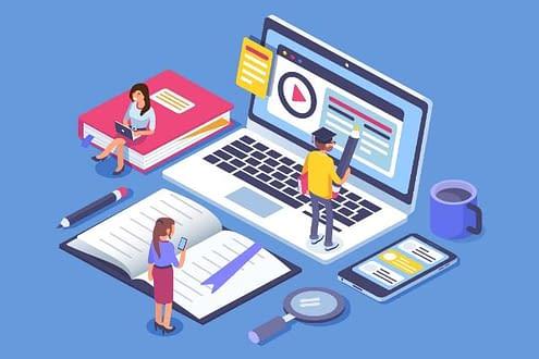 digital marketing classroom
